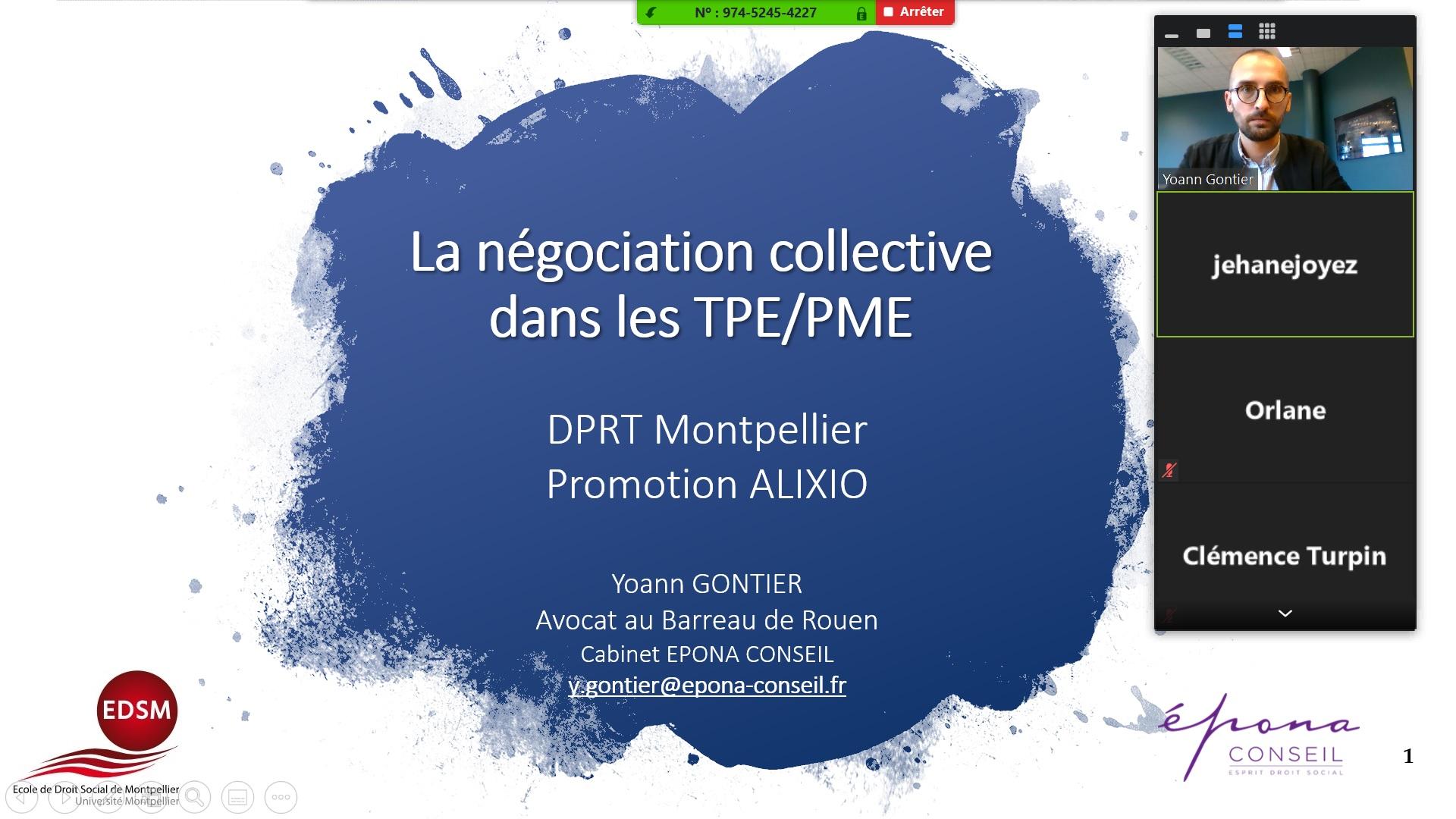Négociation collective dans les TPE/PME