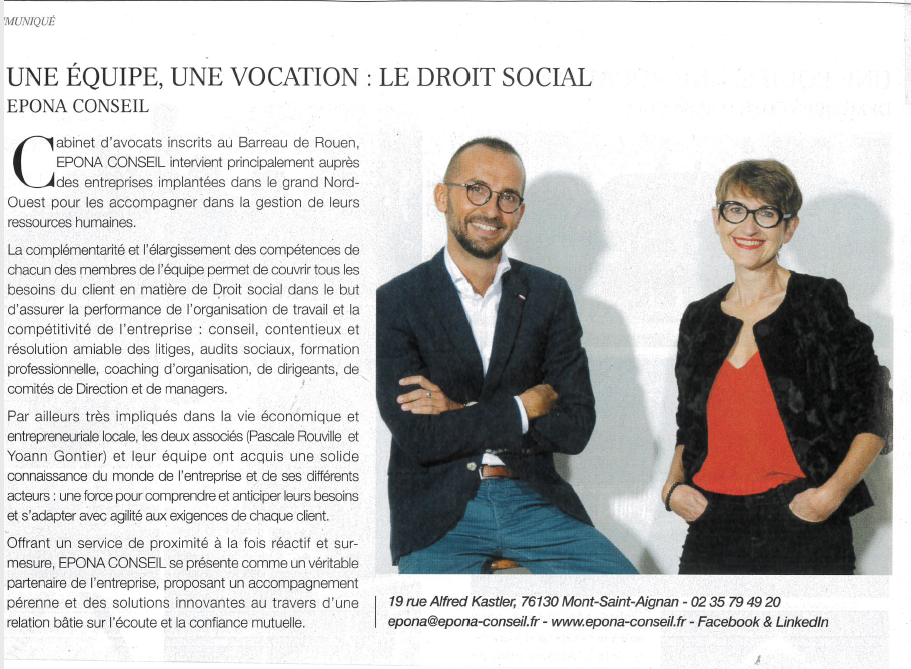 Interview Le Figaro Magazine octobre 2019
