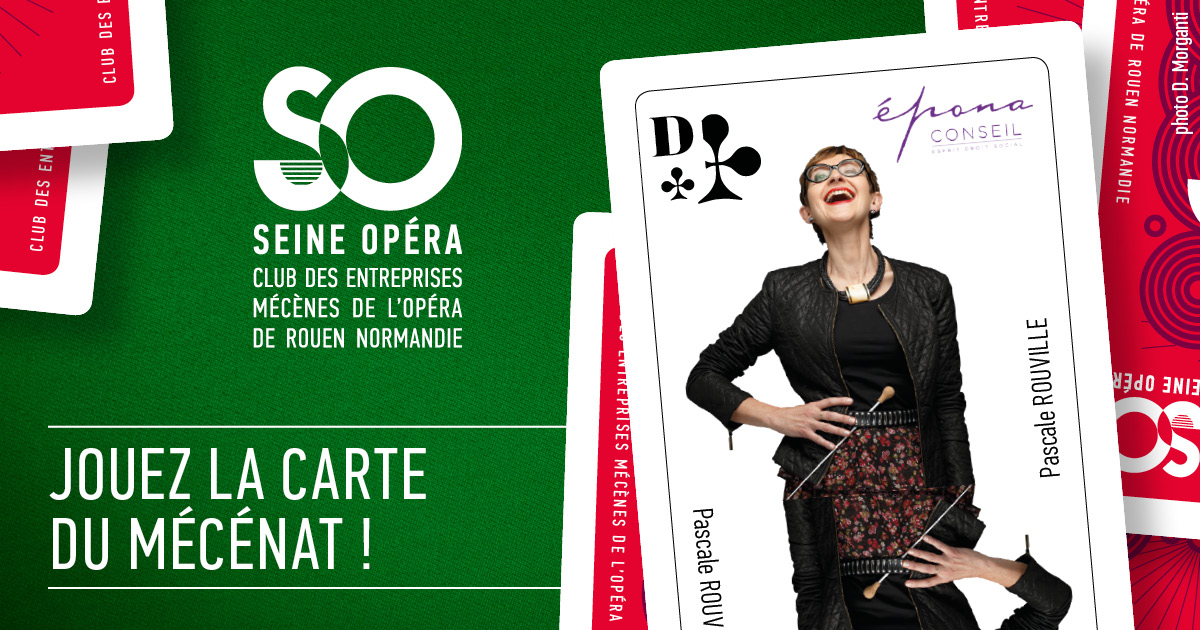 EPONA CONSEIL mécène de l'Opéra de Rouen